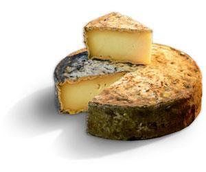 Tome des Bauges: est le fromage traditionnel de toutes les familles de Bauge (Parc naturel régional du Massif des Bauges). C'est un fromage français de Savoie à base de lait cru de vache à Pâte Pressée Non Cuite (PPNC). Sa période optimale de dégustation s'étale d'avril à septembre après 5 semaines d'affinage. Elle a la forme d'un cylindre de 18-20cm de diamètre et de 3-5cm de hauteur pour un poids de 1,1 à 1,4 kg. | è molto goloso