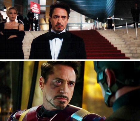 Tony Stark and the two times he was betrayed.