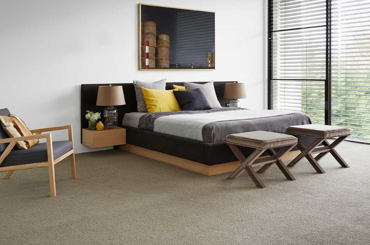 Add style to a bedroom with our Provincial Lane Arles carpet, exclusively designed by Darren Palmer