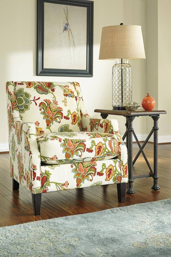 Signature Design By Ashley 2630021 Kerridon Putty Accent Chair, Ashley  Furniture Homestore, Atrium,
