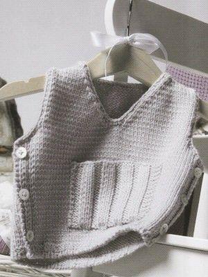 Gray Vest   Knitting Fever Yarns & Euro Yarns