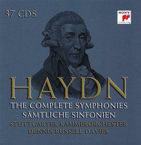 Haydn - The Complete Symphonies (Stuttgarter Kammerorchester, Dennis Russell Davies) (37CD) [2009]