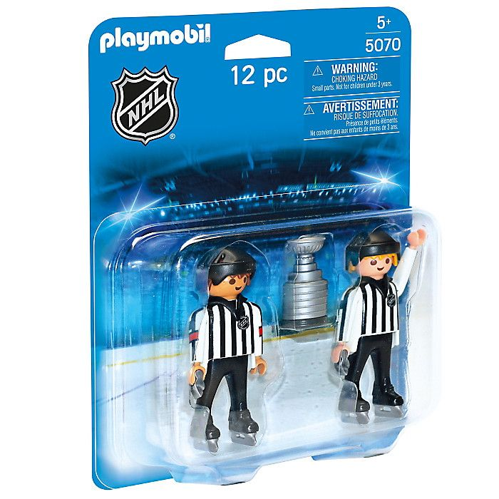 Playmobil Referees with Stanley Cup