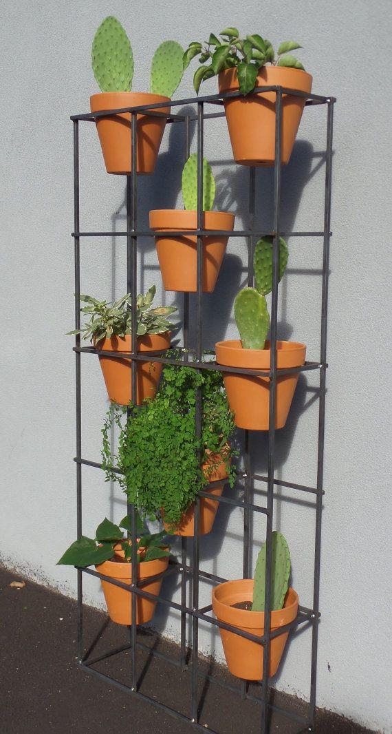 Vertical Garden Stand. Modern Design With An By IndustriaMetal