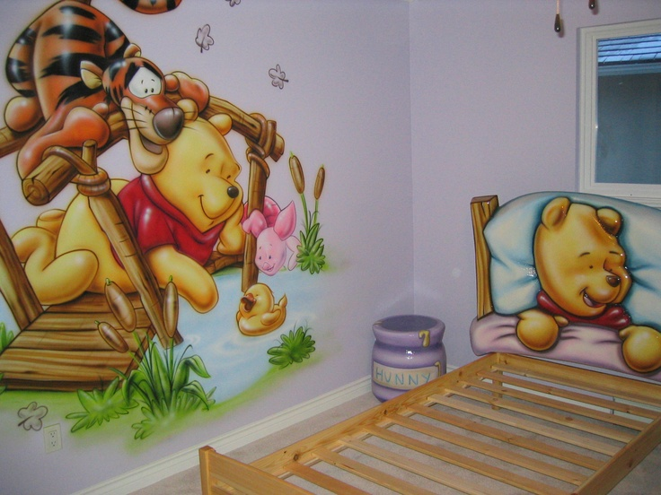 1000 images about themed kids rooms on pinterest chalk for Airbrush car mural