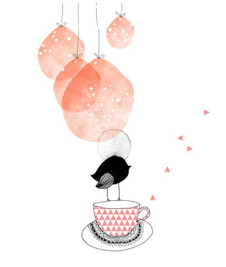 """illustrated by """"marie pertriaux"""" seen on vlinspiratie.blogspot.com"""