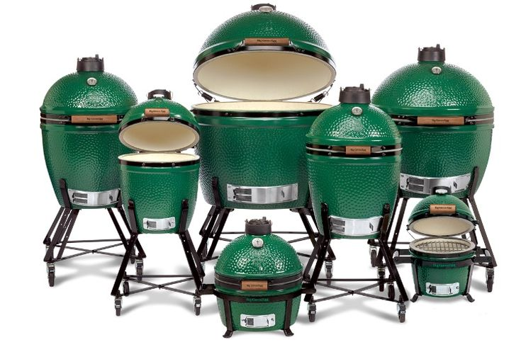 The Big Green Egg is one Big Green BBQ