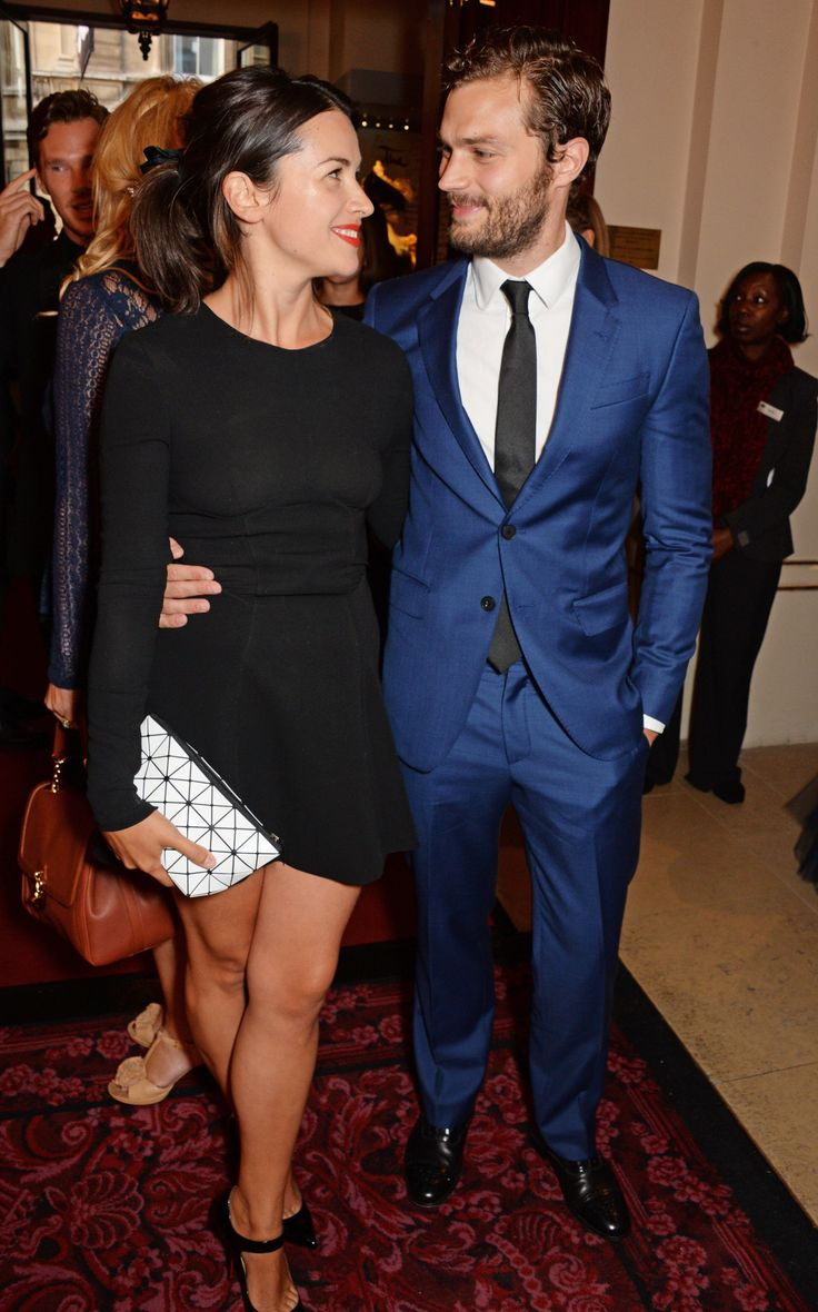 9 Times Jamie Dornan and Wife Amelia Warner Couldn't Take Their Eyes Off Each Other