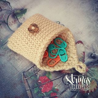 SAC Mini-Purse - free crochet pattern by Elisa DeSena. ☂ᙓᖇᗴᔕᗩ ᖇᙓᔕ☂ᙓᘐᘎᓮ http://www.pinterest.com/teretegui