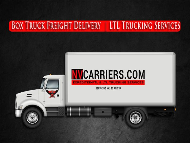 Box Truck Freight Delivery Services Ltl Trucking Company Raleigh Nc Trucks Trucking Companies Delivery Service