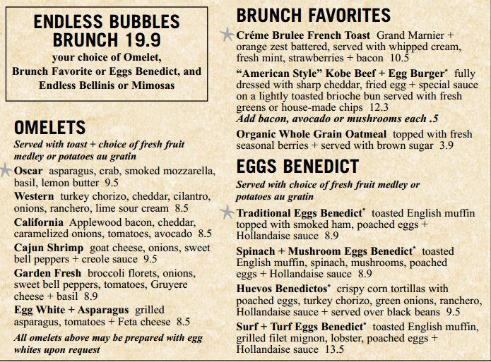 """BoneFish Grill ahora ofrece deliciosas opciones para """"brunch""""   El Club de las Diosas"""