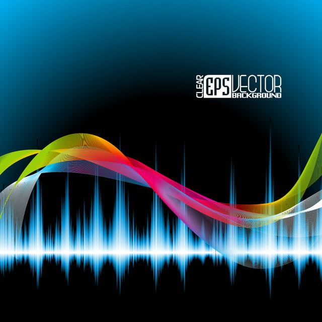 Abstract Vector Shiny Background Design With Sound Waves Background Illustration Graphic Png And Vector With Transparent Background For Free Download Background Design Sound Waves Design Background