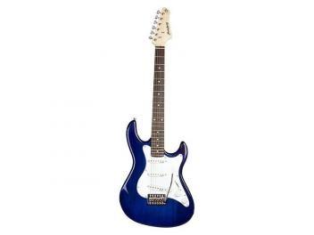 Guitarra Strinberg Strato EGS 217 Eletroacústica - com Afinador - Azul