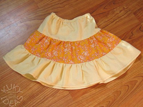 tiered skirt tutorial (i have not actually made one with these directions, but it seems do-able)