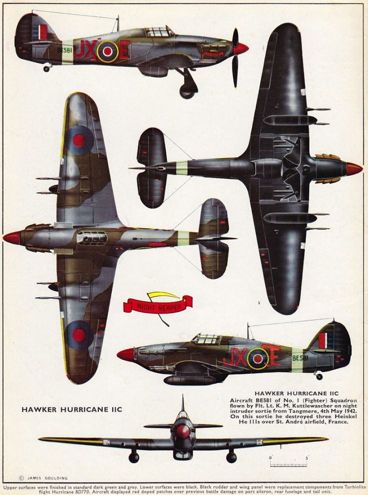 profile publications N°24 Hawker Hurricane IIC