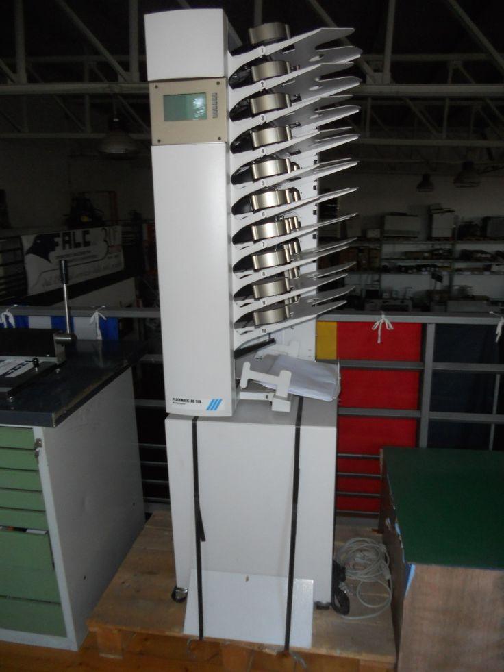 Raccoglitrice a 10 stazioni Plockmatic modello AC 510 con mobile di base