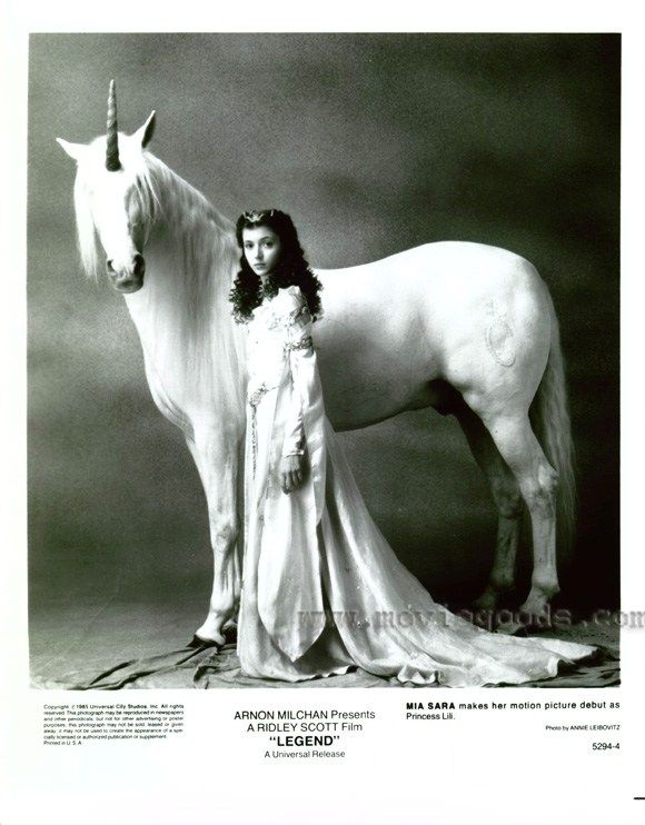 Legend  Lilly and Unicorn -