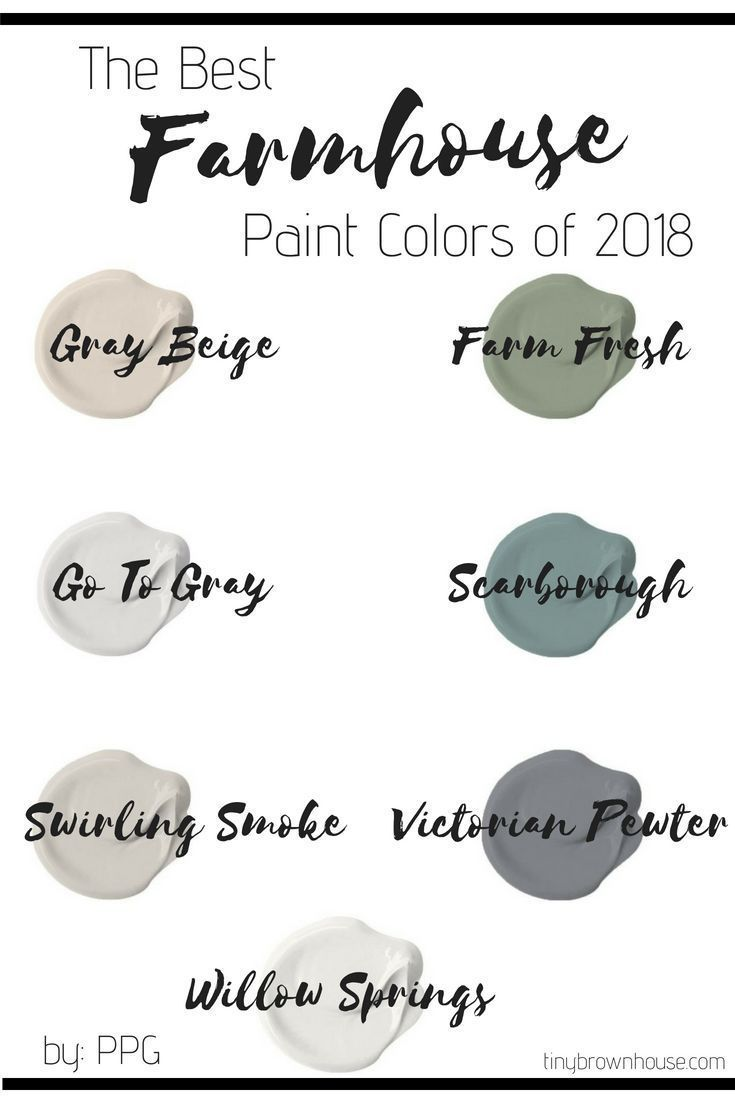 23+ Farmhouse colors for bedroom type
