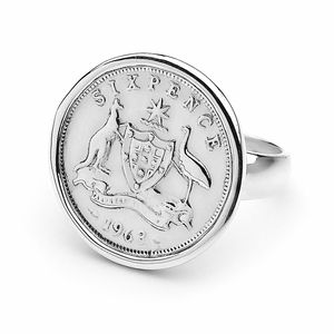 HC-SR Cotton & Co Sterling Silver Sixpence Coin Ring by Cotton & Co.jpg