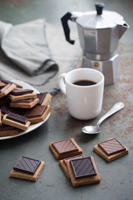 Sablés noisette et chocolat