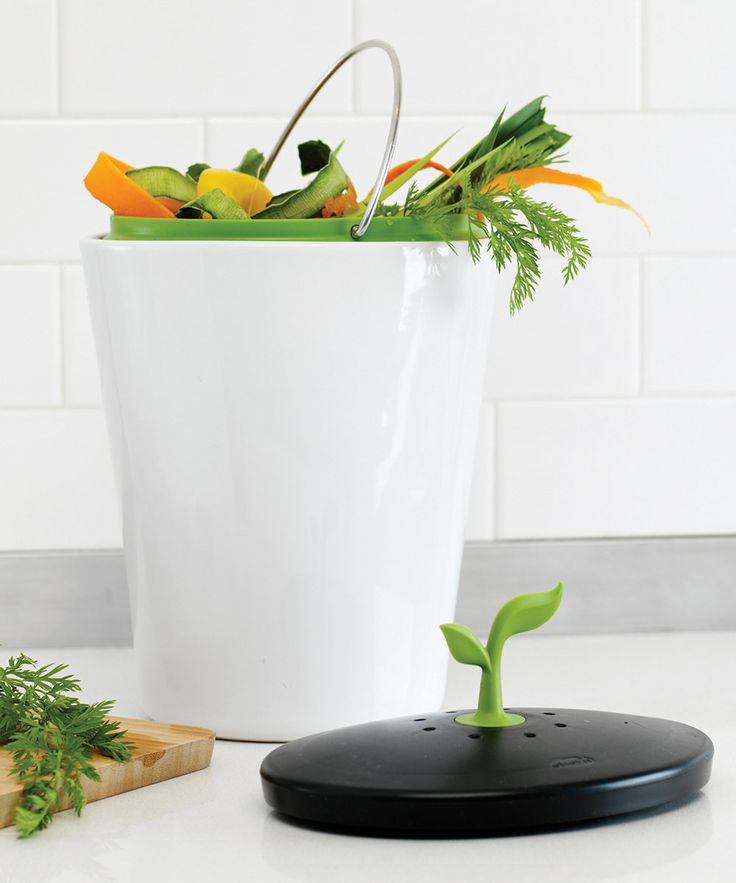 meringue u0026 black ecocrock compost bin a composter perfect for countertops featuring a charcoal filter that eliminates odors and a