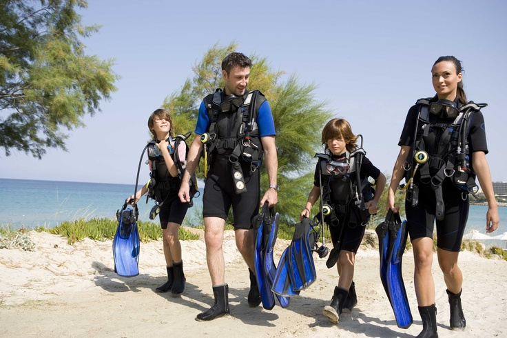 For diving enthusiasts, or those who want to try for the first time, the Sea World Diving Centre at Sani Beach Club has the best equipment and professional PADI instructors. They also organise a wide selection of under-water excursions including a visit to a ship wreck...Location: Halkidiki, Greece
