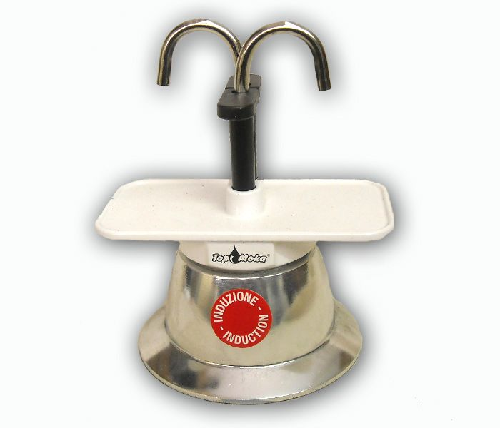 caffettiera induzione | Caffettiera espresso ad induzione (Mini02T-I Bianca) - Artigianato ...