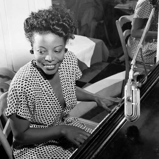 Mary Lou Williams, Here she is again, without a second to spare for anyone's bullshit.