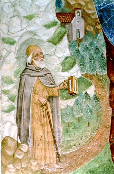 Hl. Christophorus (detail)  1490-1500; Zwickenberg; Österreich; Kärnten; Pfarrkirche  http://tarvos.imareal.oeaw.ac.at/server/images/7002110.JPG