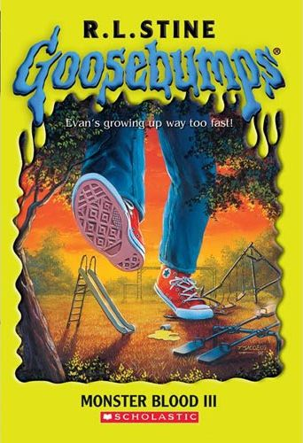 goosebumps monster blood book report To make the situation even worse, the remaining monster blood in the can starts to grow bigger too how will evan and andy stop trigger and the monster blood from growing i read this book in less than thirty minutes.