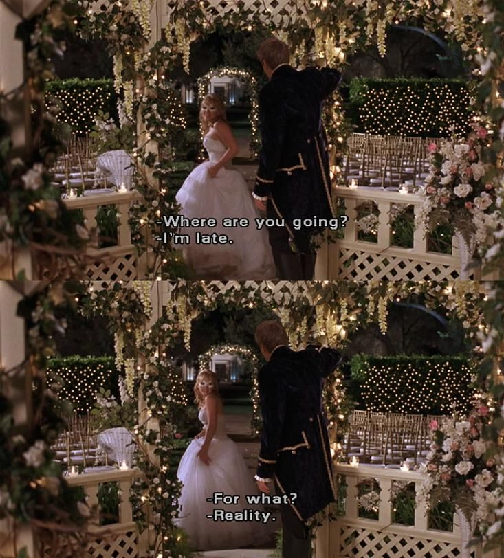 My inspiration for my wedding is this scene. Has been since the first time I watched A Cinderella Story