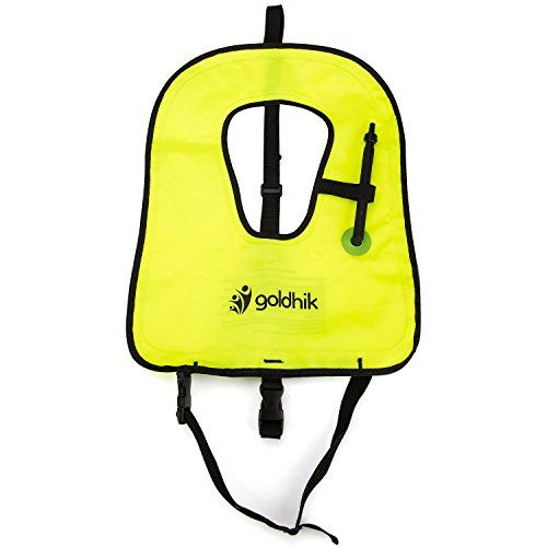 goldhik Snorkel or Snorkeling Vest - Snorkel Vest jacket - Snorkeling Diving Vest Free Diving for Dive Safety Water Safety,Fluorescent Green-XL - http://scuba.megainfohouse.com/goldhik-snorkel-or-snorkeling-vest-snorkel-vest-jacket-snorkeling-diving-vest-free-diving-for-dive-safety-water-safetyfluorescent-green-xl/