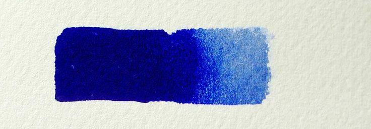 Ultramarine Blue Watercolor Paint