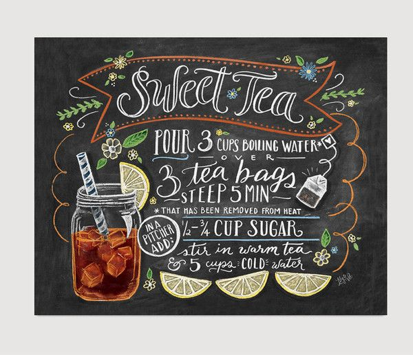 There are many ways to make sweet tea, but there's only one way to drink it. Pull up a chair next to a good friend out in the sunshine, sip slowly and enjoy lif