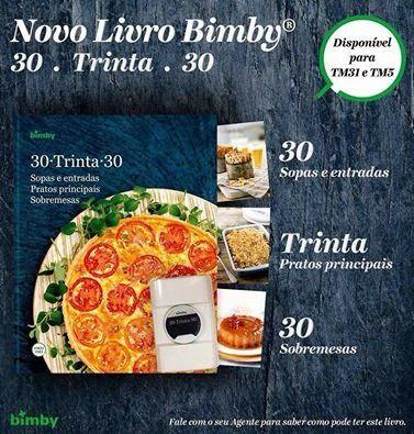 Livro Bimby 30 Trinta 30