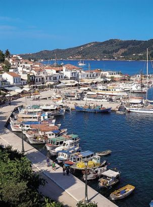 Greek Island of Skiathos.  GREECE.