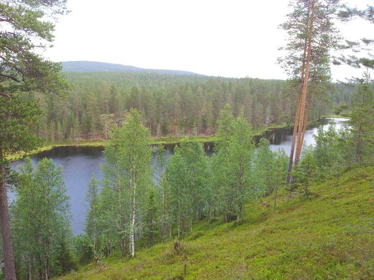 hirvipirtit lapland cabins, Taivalkoski Finland, hiking in Kylmäluoma area