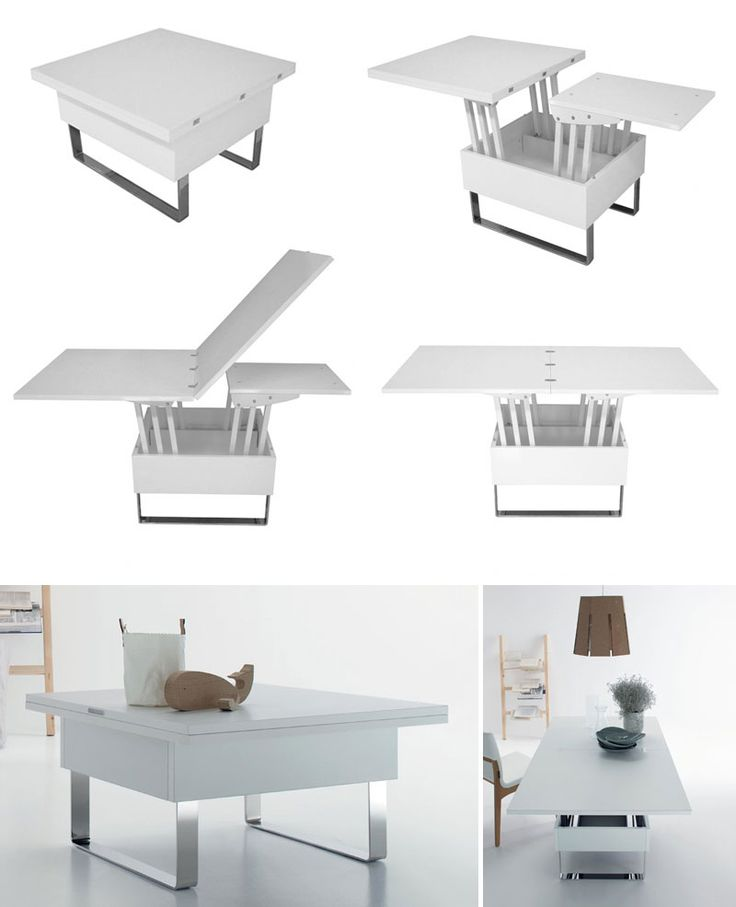 Coffee to Dining table solutions available for the US market - 25+ Best Ideas About Adjustable Coffee Table On Pinterest