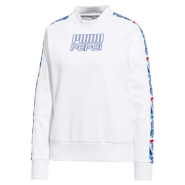 6d113a0bdb Image 1 of PUMA x PEPSI MAX Tape Knitted Women's Sweater in Puma ...