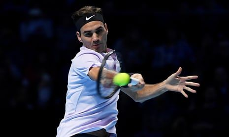 Roger Federer has made a quick start to his World Tour Finals campaign.