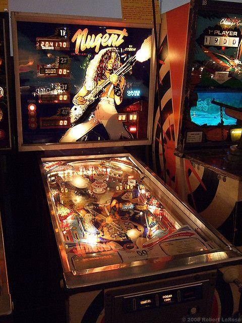 ted nugent pinball machine