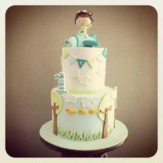 Торт на 1 год для мальчишек. (подборка)   114 фотографий
