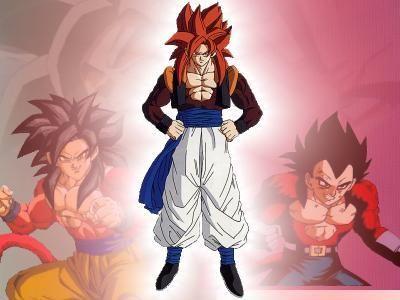 Gogeta Super Saiyan 4 | Image - Super Saiyan 4 Gogeta Fusion Dance.jpg - Dragon Ball Wiki