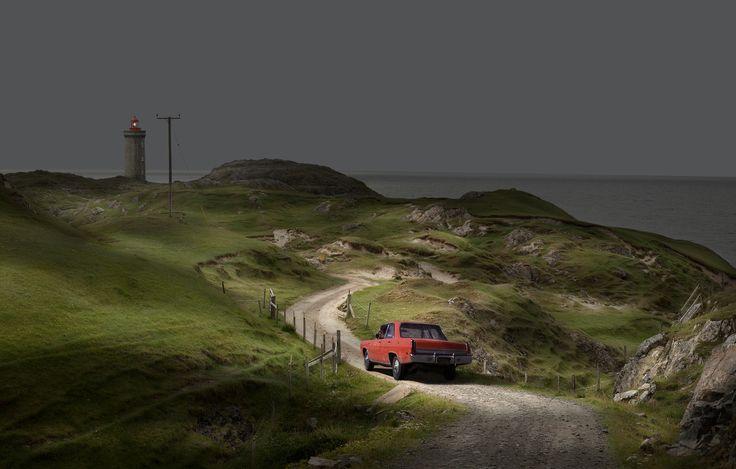 Nicolas Dhervillers, Untitled #3 (série Road Movie)