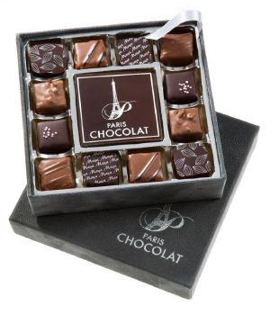 """Votre logo SUR un carré de chocolat ? C'est possible ! Une innovation de Paris CHOCOLAT, artisan chocolatier """"made in Aude"""". Pour tout savoir :  http://www.gifting.fr/conciergerie.php"""