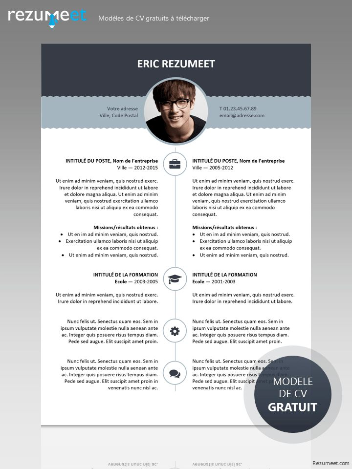 26 best Modern \ Creative resume templates images on Pinterest - top free resume templates