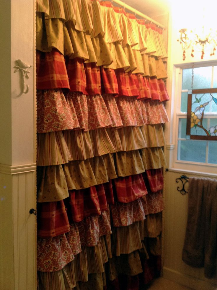 Best 25 Rustic shower curtains ideas on Pinterest  Tin on walls Corrugated sheets and Ruffle