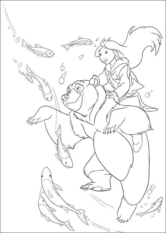 2411 best children - colouring images on pinterest | drawings ... - Brother Bear Moose Coloring Pages