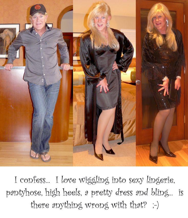 Jennifer Merrill beautiful drag queen/crossdresser before and after