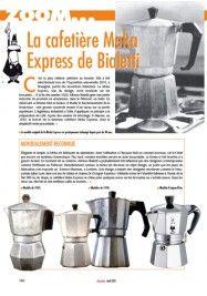 La cafetière Moka Express de Bialetti  Aladin 271, avril 2011